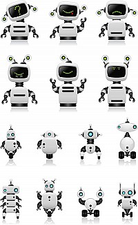 Vector Robots Collection