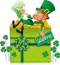 Cute St. Patricks Vetcor Illustration