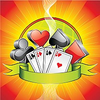Casino Gambling Vector Illustration