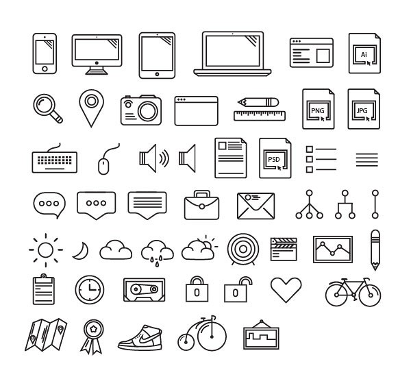 Othericons Vector App Icons