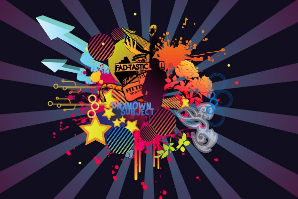 Cool Abstract Vector Background