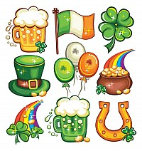 St. Patricks Vector Objects