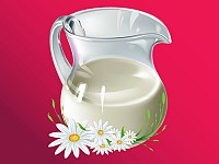 Milk Jug Vector Illustration