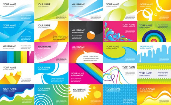 Business cards vector design set topvectors business cards vector design set reheart Images