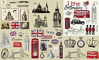 London Culture Vector Elements
