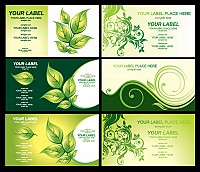 Green Eco Business Card Templates