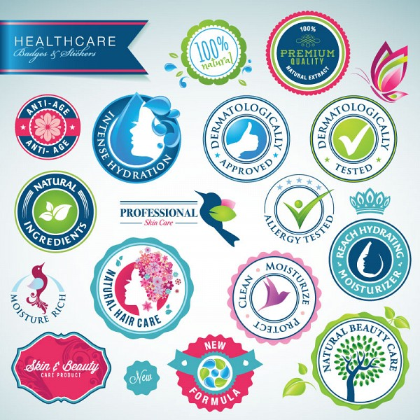 Health Care Vector Badges