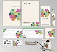 Modern Business Stationery Design Template
