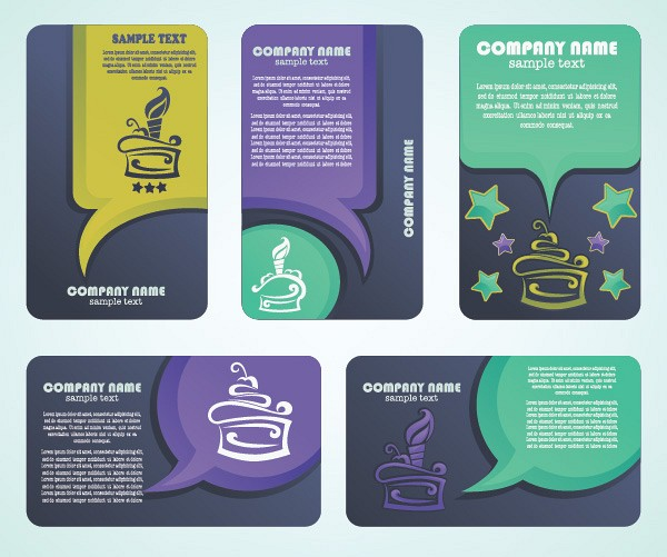 Playful Business Cards Template