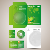 Eco Business Card Stationery Set