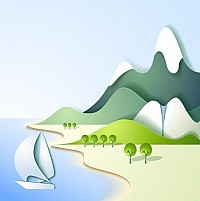 Mountain Illustration