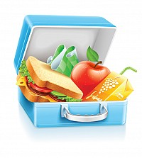 School Lunchbox Vector