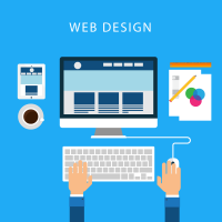 Web Design Workflow Illustration