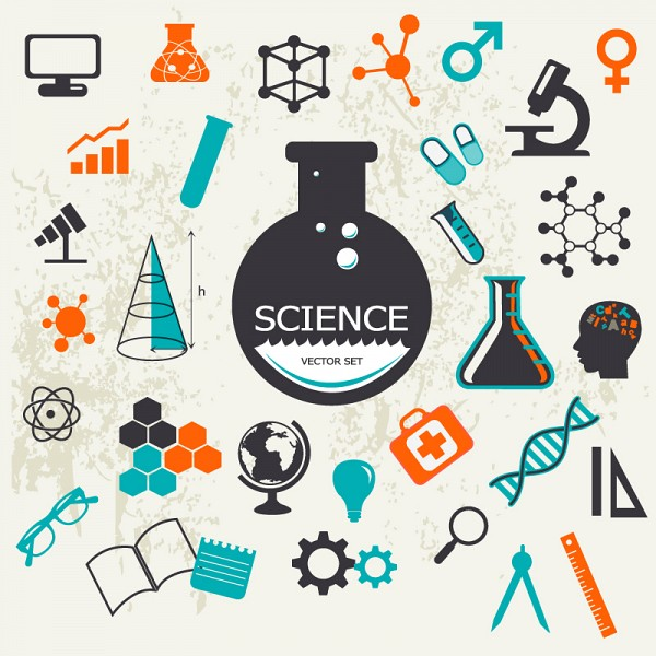 Science Elements Vector Icons