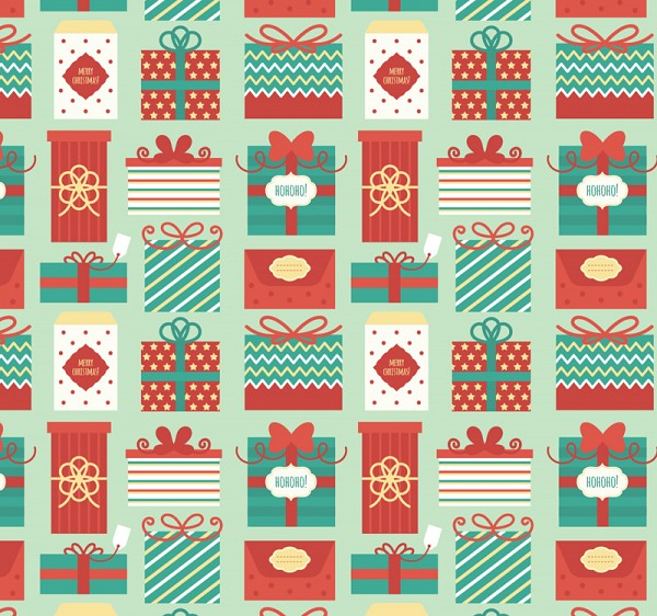 Seamless Christmas Vector Pattern