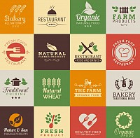 Food Industry Vector Logos