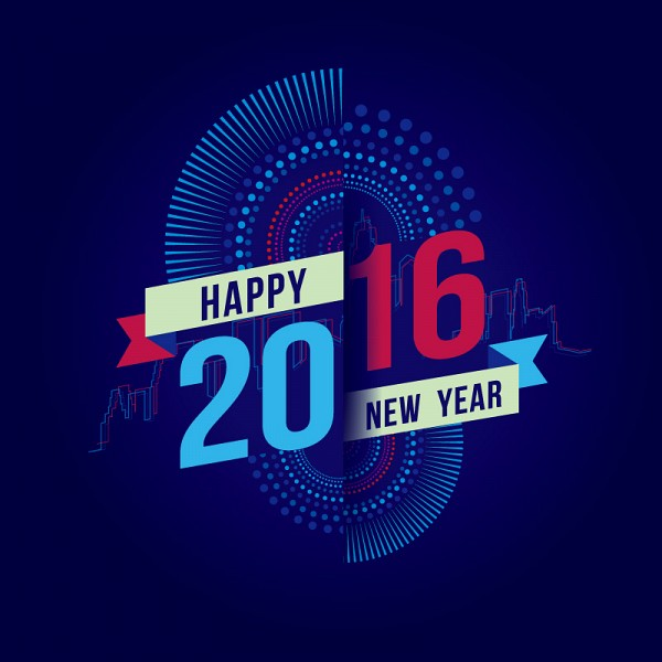 2016 New Years Greeting Card