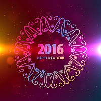 Happy New Year 2016 Pattern