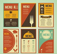 Retro Restaurant Menus